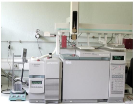 Figure 2. A gas chromatograph