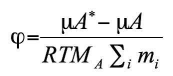 osmotic coefficient