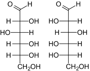 Figure 2. D and L Structures of Glucose