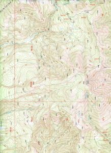 Figure 6. A topographical map