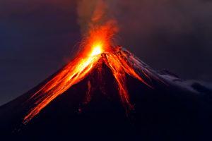 Figure 2. Tungurahua Volcano eruption, Ecuador