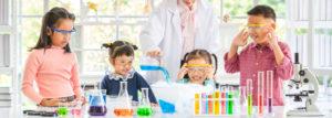 Kids in a lab