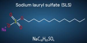 Figure 1. Structural formula of sodium dodecyl (or sodium lauryl) sulfate